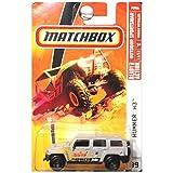 hummer h3 toy car - Matchbox 2009, Hummer H3 Desert Race # 99, Outdoor Sportsman 1:64 Scale.