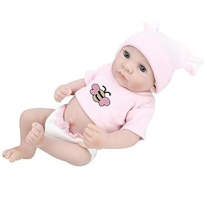 Muñeca de cuerpo suave Realista Muñeca recién nacida con ropa ...