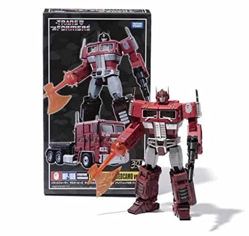 Transformers Masterpiece MP-10R Convoy Red Optimus Prime Bape Redcamo Version KO Version - Mp 10 Ko