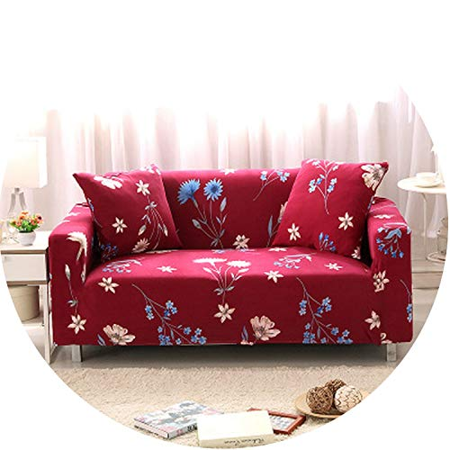 Universal Sofa Cover Big Elasticity Cover Stretch Sofa Slipcover,Sofa Cover 14,Three 195X230Cm (Outdoor Cushions Patio Kohls)