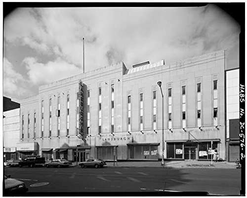 Photo: Lansburgh's Department Store,420-426 Seventh Street,Washington,DC,HABS,1 by Infinite Photographs