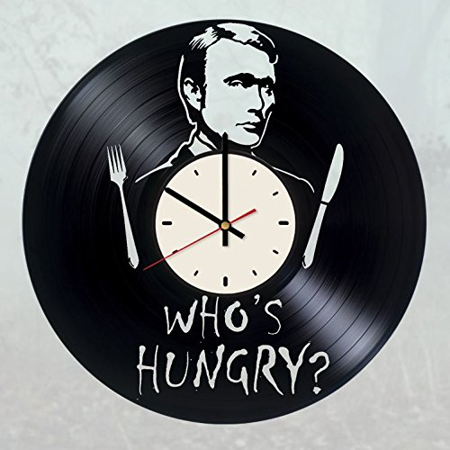 Hannibal Vinyl Wall Clock Hannibal Lecter Unique Gifts Living Room Home Decor