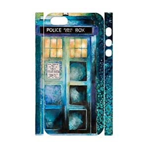 Cool Painting Doctor Who Custom 3D Cover Case for Iphone 5,5S,diy phone case case-314606
