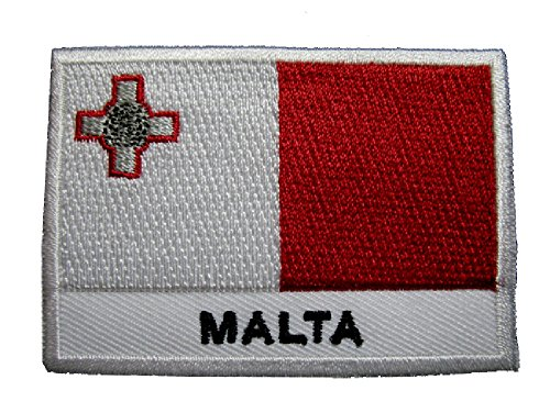 republic-of-malta-maltese-national-flag-sew-on-patch-free-shipping