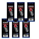 Zippo Lighter 6 Flint Card (Total 36 Flints)