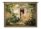 Fine Art Tapestries ''Grandma's Doorway'' Wall Tapestry