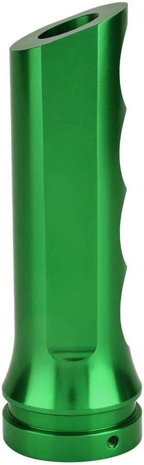 Green Aramox Universal Auto Car Aluminum HandBrake Cover Handle Protector Hand Brake Sleeve Car Modificate Accessories Case