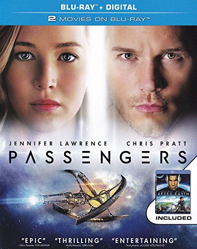 PASSENGERS/AFTER EARTH Blu-ray+Digital Includes (Walmart Exclusive - 2 Movies on Blu-ray Set)
