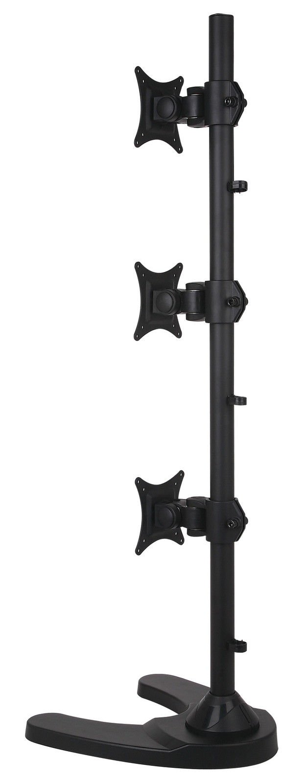 USED Triple Monitor Desk Stand/Mount Free Standing Vertical 3 Screens upto 27'' by SANOXY (Image #6)