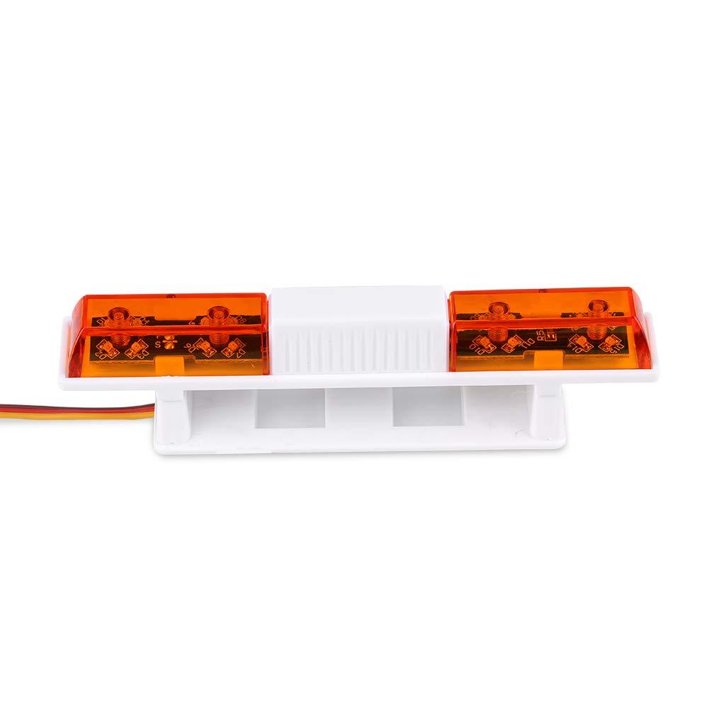 Fernbedienung Auto LED blinkende Lichter f/ür RC Modell Car Vehicle RC Part Dilwe RC Blitzlicht