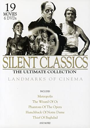Amazon Com Silent Classics The Ultimate Collection Lon Chaney Max Schreck John Barrymore Douglas Fairbanks Mary Pickford And Others Various Movies Tv