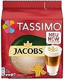 Tassimo Jacobs Typ 拿铁 玛奇朵 姜饼 胶囊咖啡 5 包装 T Discs (5 × 8 杯)