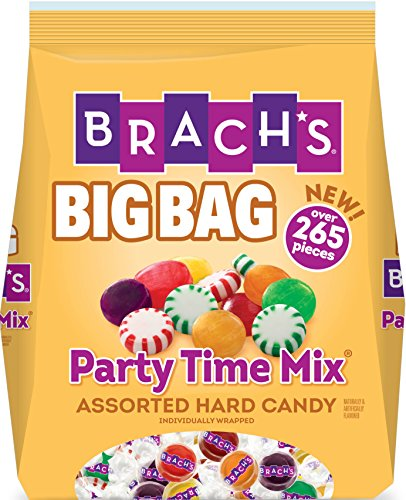 Brach's Party Time Assorted Hard Candy Mix, 265 Count (Assorted Spearmint)