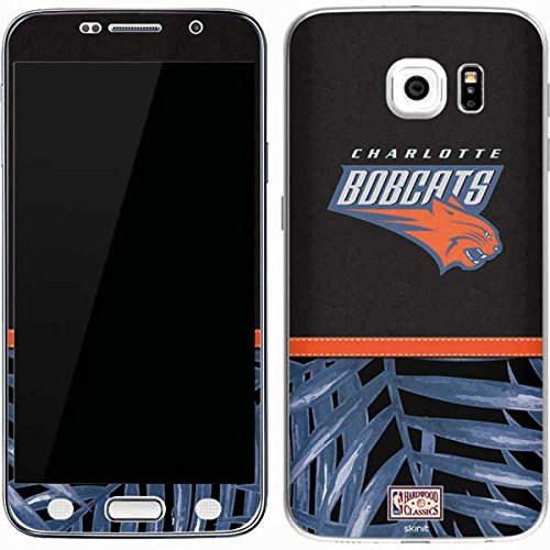 (NBA Charlotte Hornets Galaxy S7 Skin - Charlotte Bobcats Retro Palms Vinyl Decal Skin For Your Galaxy S7)