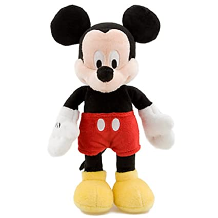 Mini Bean Bag Mickey Mouse Plush Toy -- 9 H