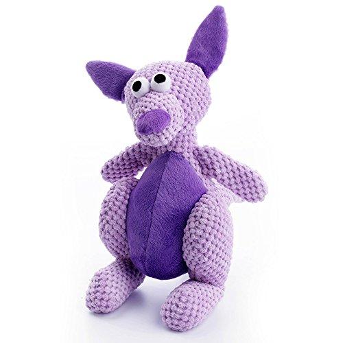 good Go Dog Checkers Kangaroo Toy With Chew Guard
