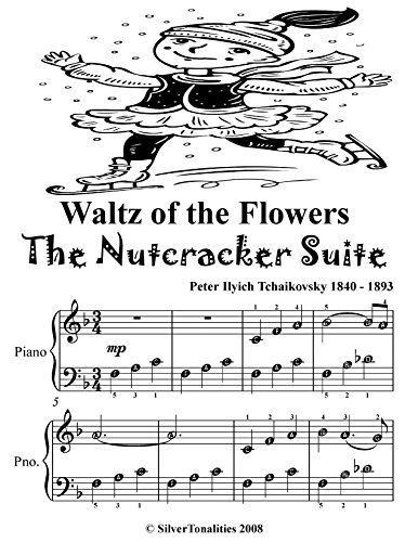 Waltz of the Flowers the Nutcracker Suite Easy Piano Sheet Music Tadpole Edition (Waltz Of The Flowers Piano Sheet Music Easy)