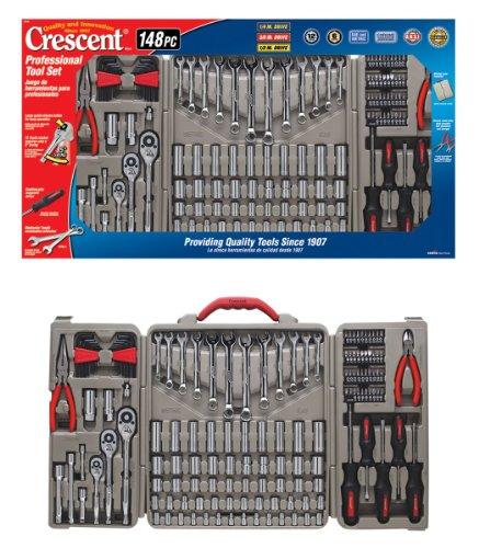 Crescent CTK148MP 148-Piece Professional Tool Set 148 Piece Set