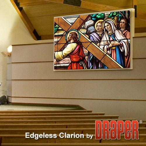 (Draper 255031 Edgeless Clarion 133 diag. (65x116) - HDTV [16:9] - Matt White XT1000V 1.0 Gain)