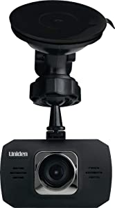 "Uniden DC11 Dash Cam, 1080P HD, 120 Degree View Angle, 1.5"" Color LCD Screen, Automotive Video Recorder with G-Sensor Collision Detection, Black"