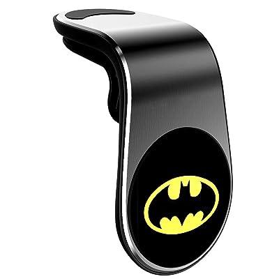 Magnetic Phone Car Mount, Universal Air Vent Magnetic Cellphone Car Mount Phone Holder, 360°Rotation Phone Holder for Car Magnetic Compatible for All Smartphones - Batman
