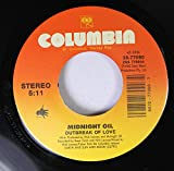 Midnight Oil 45 RPM Outbreak Of Love / Ships Of Freedom