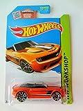 Hot Wheels 2015 HW Workshop Camaro Convertible Concept 246/250, Orange