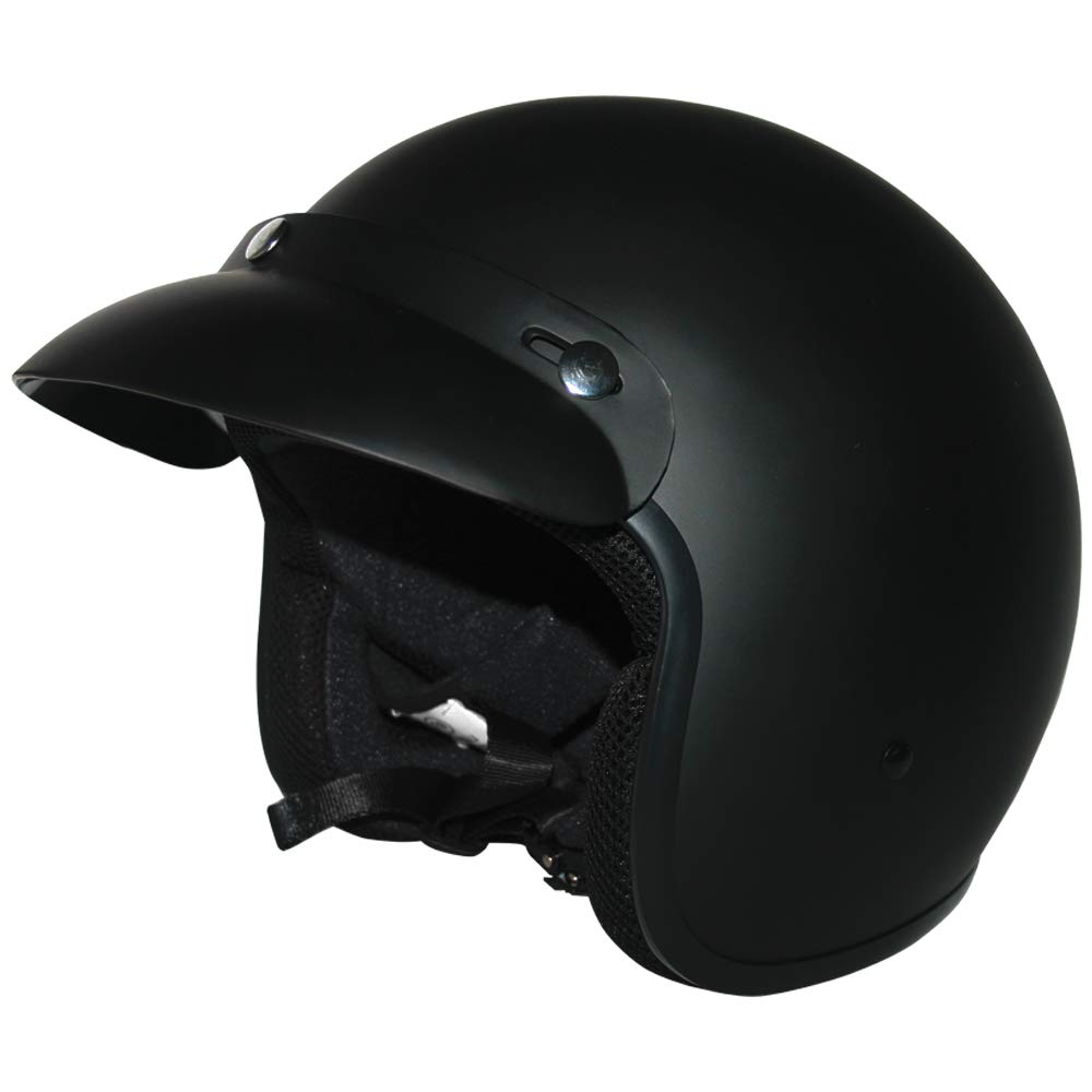 #09 Union Jack L Leopard LEO-604 Open Face Motorcycle Motorbike Helmet Road Legal 59-60cm