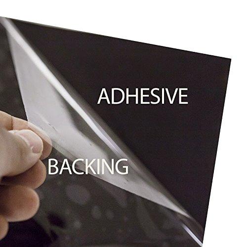 BDF HNC20 Window Film Premium Heat Control and Energy Saving, Chrome (Dark) - 36in X 50ft by Buydecorativefilm (Image #6)