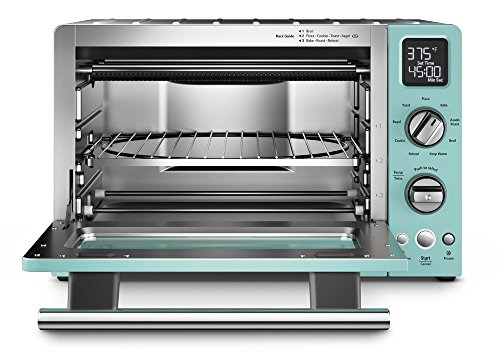 KitchenAid KCO275AQ Convection 1800-watt Digital Countertop Oven, 12-Inch, Aqua Sky