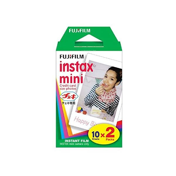 RetinaPix Fujifilm Instax Mini 9 (Cobalt Blue) Instant Camera with Mini Film Twin Pack