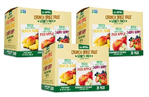 Sensible Foods Crunch Dried Fruit, 20 Count (3 Boxes) by Sensible (Image #6)
