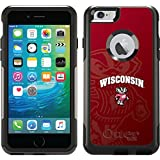 Coveroo Commuter Series Case for iPhone 6 Plus - Retail Packaging - University of Wisconsin Watermark