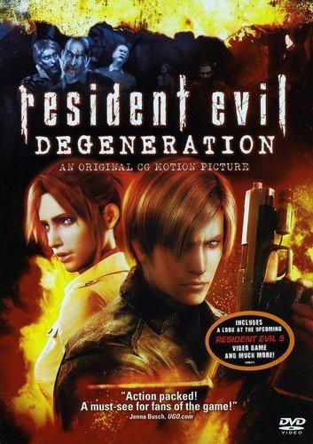Resident Evil: Degeneration Edizione: Stati Uniti USA DVD: Amazon ...