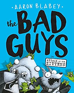 Book Cover: The Bad Guys in Attack of the Zittens