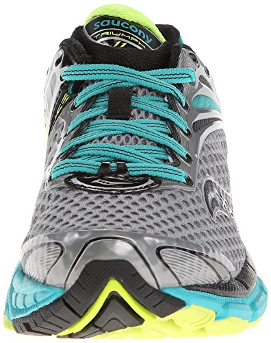 Womens Grey 11 Running Teal Shoe Citron Triumph Saucony awqUd88