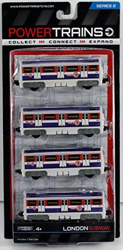 Power Train 4-Car Pack - London Tube (Train Pack Car)
