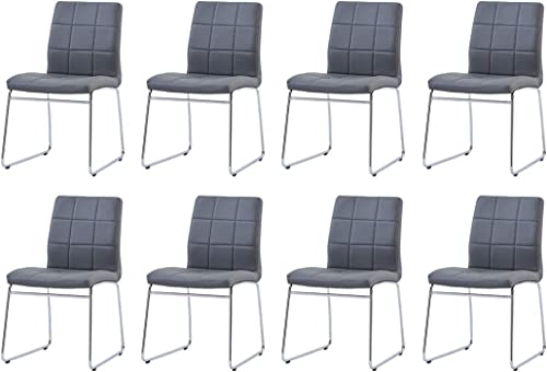 Modern Dining Room Chairs Set of 8