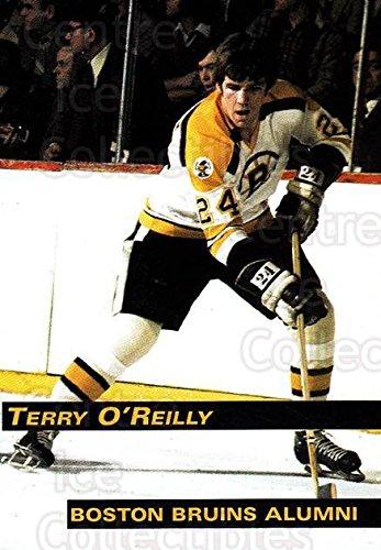 - (CI) Terry O'Reilly Hockey Card 1998-99 Boston Bruins Alumni (base) 24 Terry O'Reilly