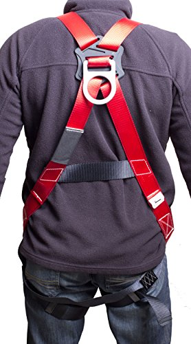 Gulfe Warehouse Adjustable Safety Harness Full-Body Picker w/ Pass Through Legs Black/Blue by Gulfe (Image #3)