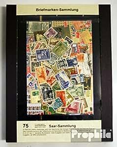 sellos para coleccionistas: Saar 75 diferentes sellos