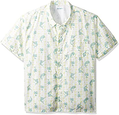 de6b6eb89aa Columbia Men's Trollers Best Shorts Sleeve Big Shirt, Miami Print ...