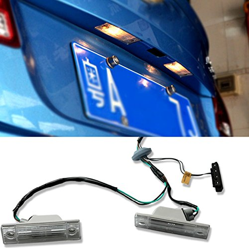 LICENSE PLATE LAMP LIGHT & REAR TRUNK SWITCH BUTTON ASSEMBLY FOR CHEVROLET CRUZE