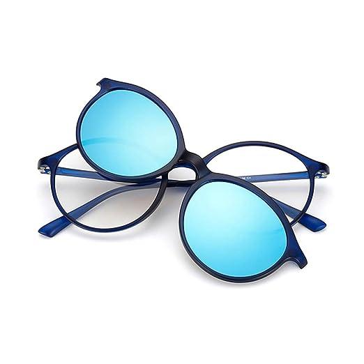 Yangjing-hl Retro Hombres y Mujeres Variedad Gafas de Sol ...