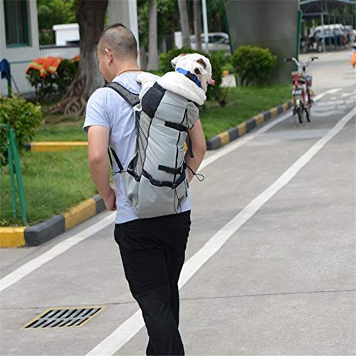 Dog Bicycle Carrier - Bicycle Dog Carrier - Dog Carrier Bicycle - Dog Carrier Pet Shoulder Traveler Backpack Dog Outcrop Bags Ventilation Breathable Washable Outdoor Bicycle Hiking Backpack.