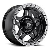 fuel anza wheels - Fuel Offroad D557 Anza 17x8.5 5x127 -6mm Black Wheel Rim