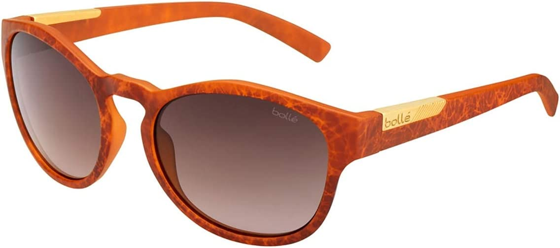 Boll/é Rooke Sunglasses Matte Amber Artwork Small Unisex