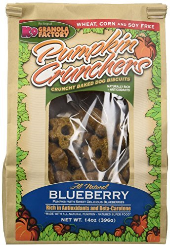 K9 Granola Factory Blueberry Pumpkin Crunchers by K9 Granola Factory