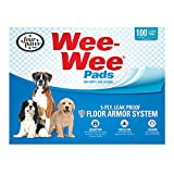 quilted dog pad - Four Paws Wee-Wee Dog Training Pads, 100-Pack Box