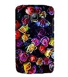PrintVisa Beautiful Coloured Roses 3D Hard Polycarbonate Designer Back Case Cover for Samsung Galaxy J1 (2015) :: Samsung Galaxy J1 4G :: Samsung Galaxy J1 4G Duos :: Samsung Galaxy J1 J100F J100FN J100H J100H/DD J100H/DS J100M J100MU